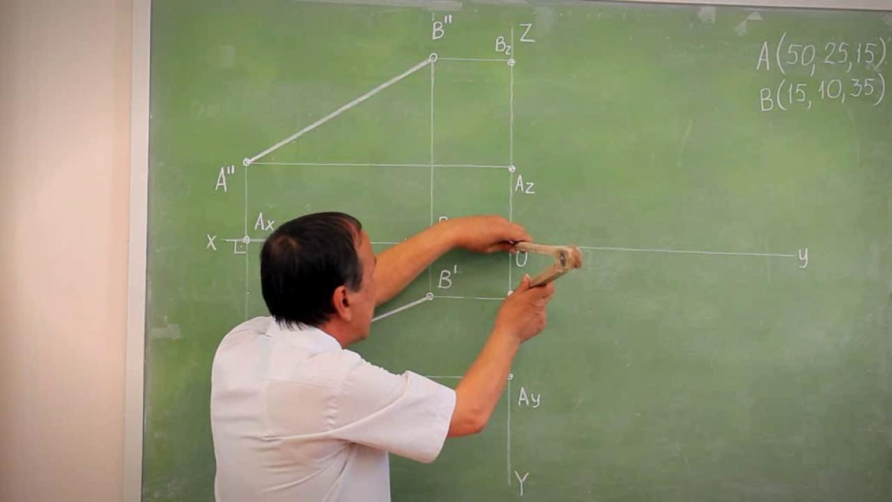 Chizma geometriya 3-Ma'ruza