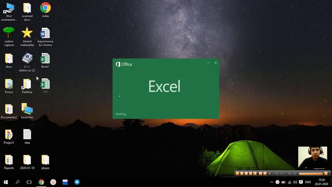 MS Excel elektron jadvali haqida umumiy tushuncha