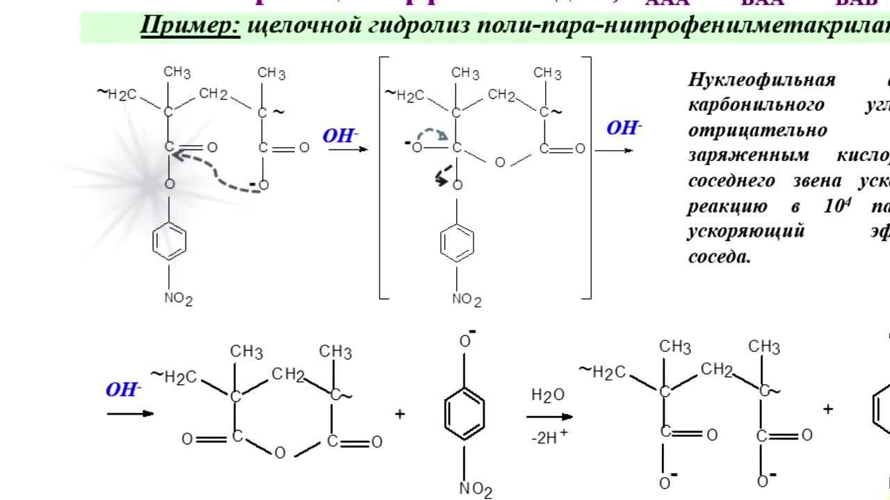 Макромолекулярные реакции (2-часть)