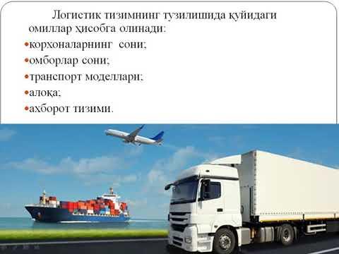 Logistik tizimlar